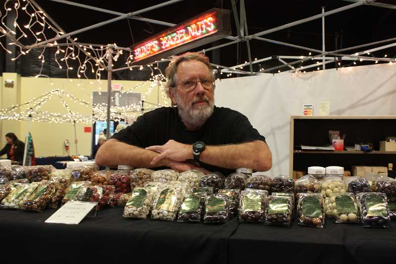 by: LINDSAY KEEFER - Hazelnuts galore are available at the Mount Angel Hazelnut Festival Dec. 7-8.