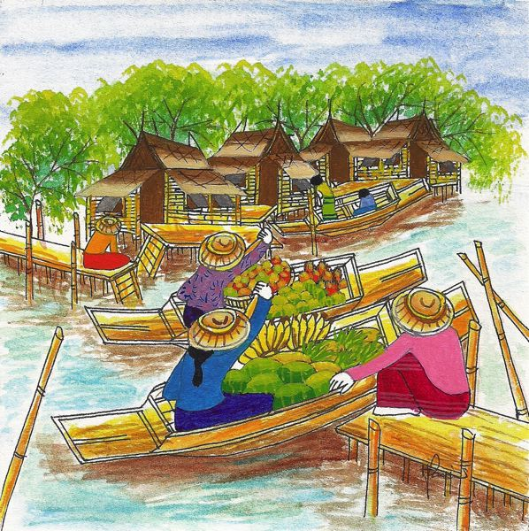 by: CONTRIBUTED PHOTO - Floating Market.
