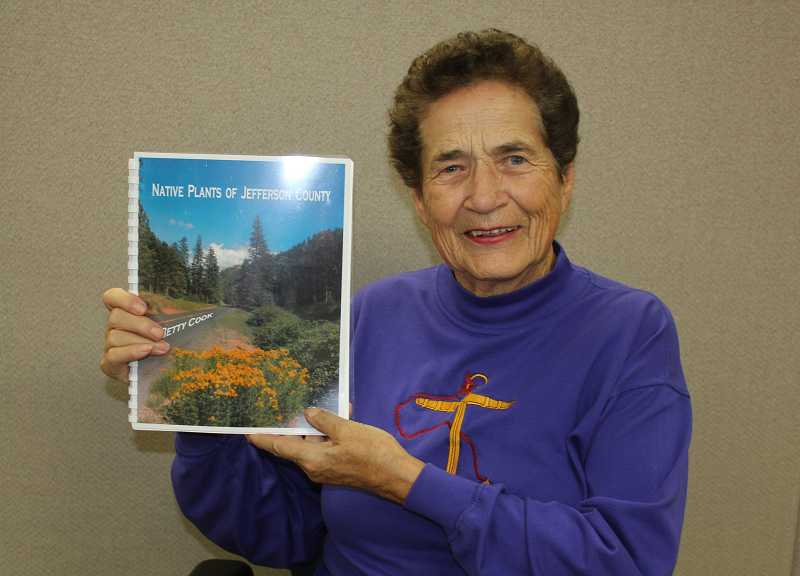 Madras Author Betty Cook recently completed a native plant book.