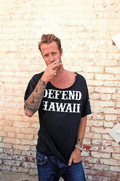 by: COURTESY OF DEREK DUNFEE - Coos Bay native Chas Smith says the surfing on the North Shore of Oahu (top) always draws him back to Hawaii. But, his first book, about North Shores seedy culture, probably wont be too well-received by the locals.