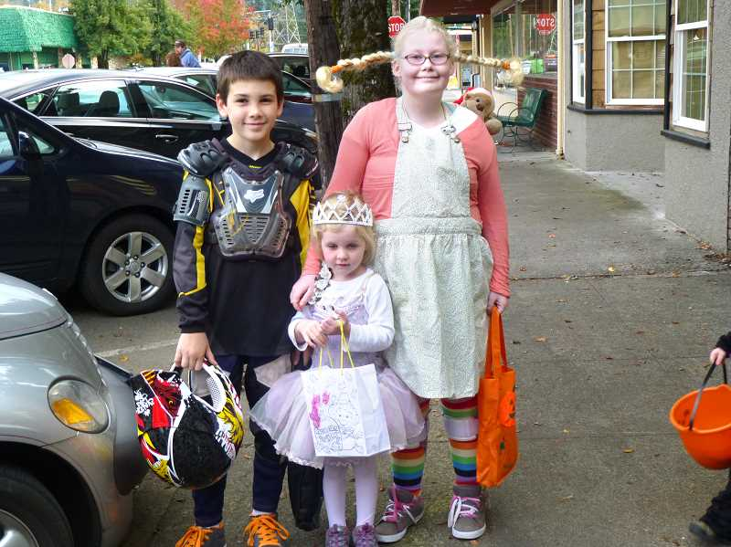 by: CONTRIBUTED - A racer, a princess and Pippi Longstocking hungout.