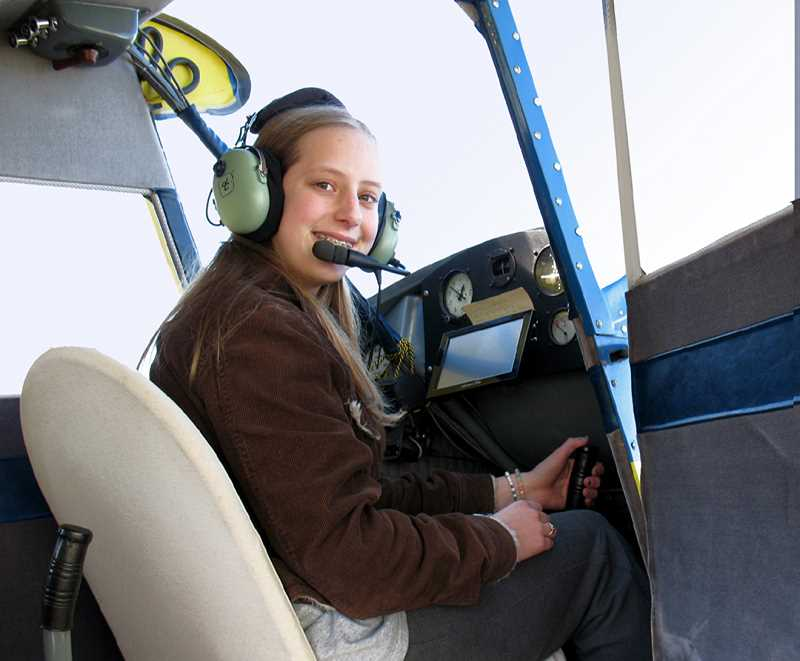 by: CONTRIBUTED PHOTO - Bethanie Wiles plans to become a missionary pilot.