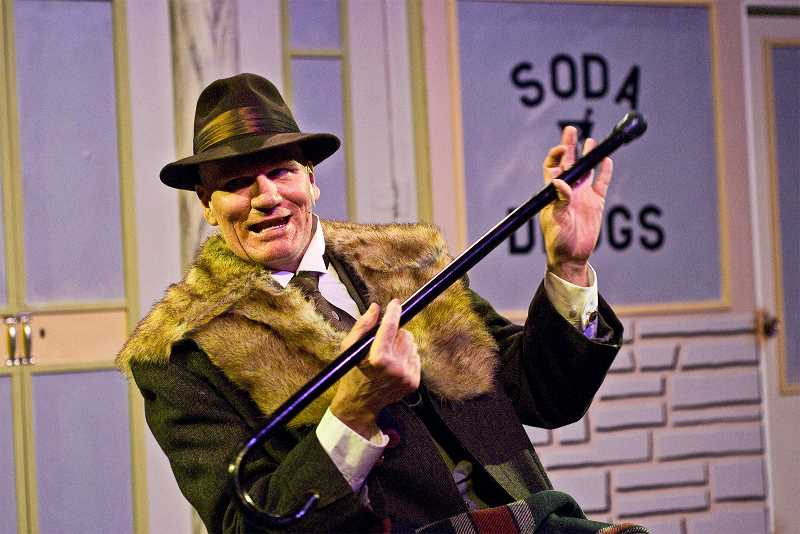 by: SUBMITTED PHOTO: PAUL FARDIG - John Branch stars as Mr. Potter in Stumptown Stages musical Its a Wonderful Life.