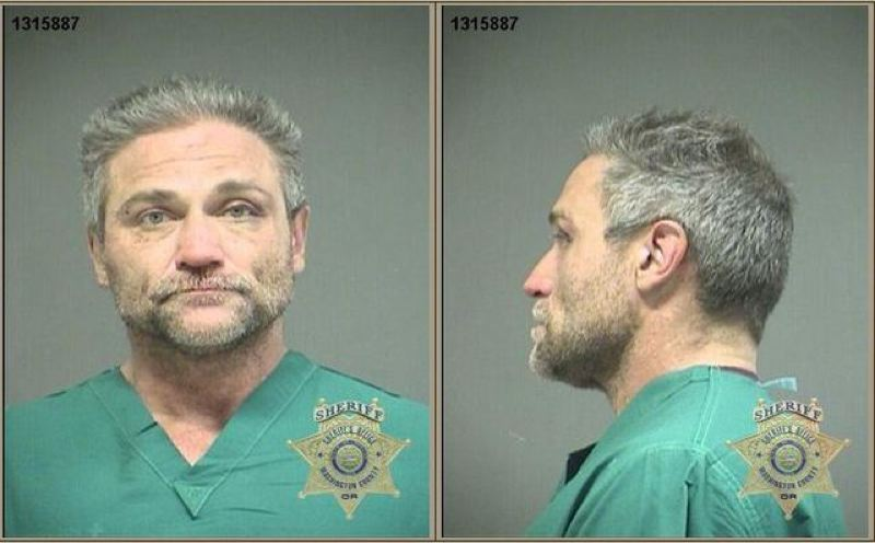 by: WASHINGTON COUNTY SHERIFF'S OFFICE - Dave Dahl, the co-founder of Dave's Killer Bread, was arrested and is shown in a jail booking photo.