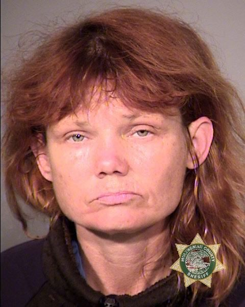by: PORTLAND POLICE BUREAU - Wendy Lee Neighbours was arrested on Thursday in connection with the robbery of a Key Bank branch earlier this week.