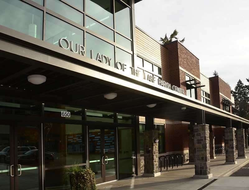 by: REVIEW PHOTO: VERN UYETAKE - Our Lady of the Lake Catholic School opened a new facility in 2012.
