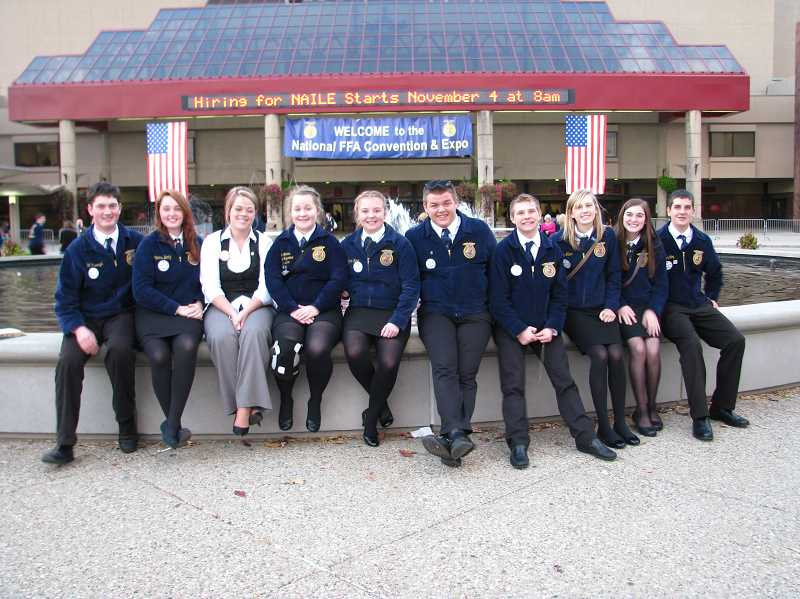 by: SUBMITTED - North Marion and Gervais FFA students and advisers spent nine days in Kentucky and Tennessee, mainly for the National FFA Convention in Louisville, Ky., which attracted more than 60,000 students nationwide.