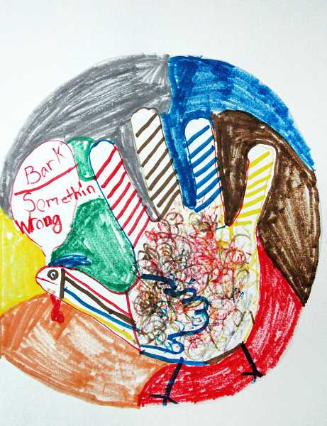 Art by James Durand, Third Grade, Clackamas River Elementary, Mr. Syring