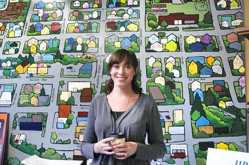 by:  ISABEL GAUTSCHI - Terra Wilcoxson is Estacada's Main Street manager.