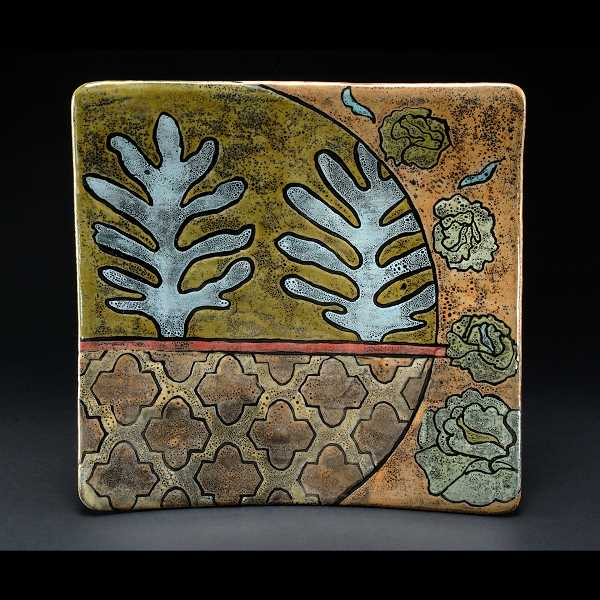 Susannah Lints will have her pottery available for purchase at the holiday gallery.