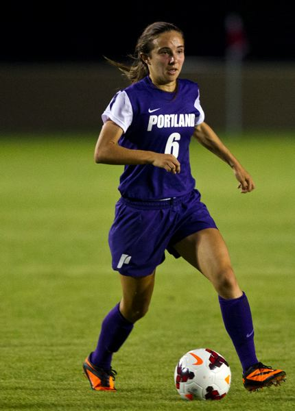 by: COURTESY OF UNIVERSITY OF PORTLAND - Parkes Kendrick, a freshman from Grant High, got her first college goal Friday morning, but the Portland Pilots lost 4-3 in overtime to Illinois in round two of the NCAA playoffs.