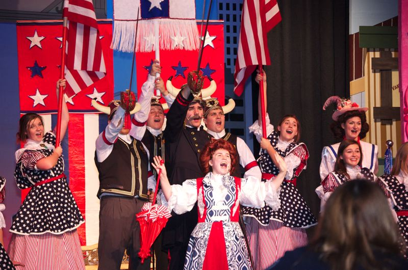 by: CONTRIBUTED PHOTO - An iconic American musical, 'Hello, Dolly!' is set in the 1890s. Gresham High School will wrap up its performances Thanksgiving weekend.