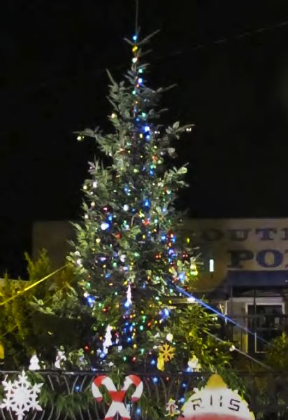 by: CONTRIBUTED PHOTO - Wood Village, Troutdale and Fairview will sparkle following tree lightning events Dec. 6-7.