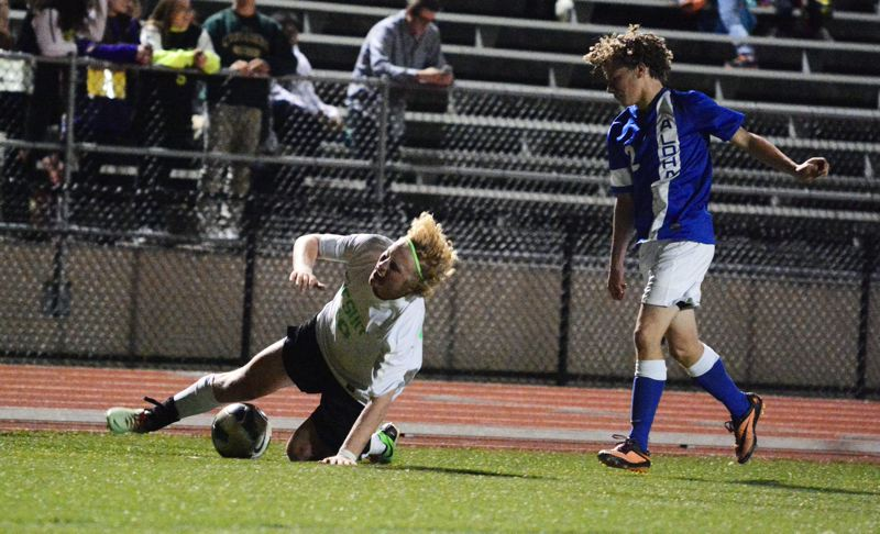 by: TIMES FILE PHOTO - Jesuit's Christo Michaelson was named the Metro League's boys' soccer player of the year.