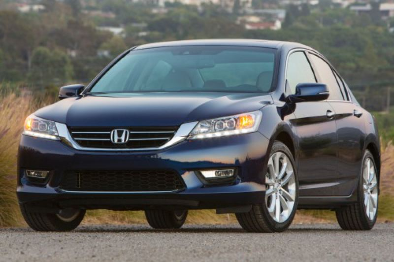 by: HONDA AMERICA MOTOR COMPANY - Even the least expensive versions of the 2014 Honda Accord are among the best midsize cars.