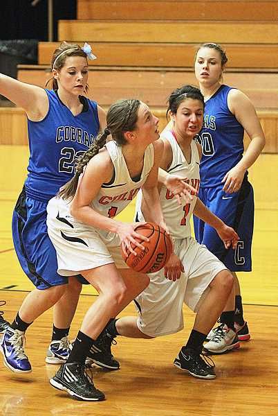 by: PIONEER FILE PHOTO - Culver sophomore Hannah Lewis will start at point guard this season, a position she played significant minutes as a freshman.