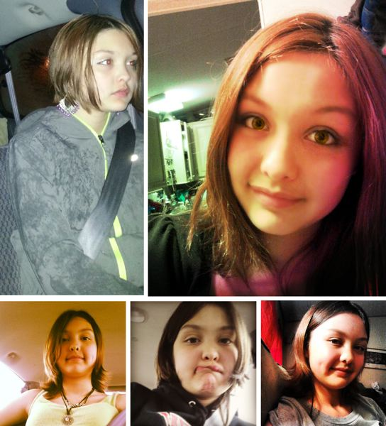 by: PHOTOS COURTESY: CCSO - A photo collage of 13-year-old Samantha Dodson of Oregon City.