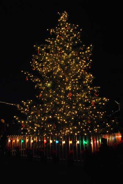 The annual Sherwood tree lighting is set for Saturday, Dec. 7