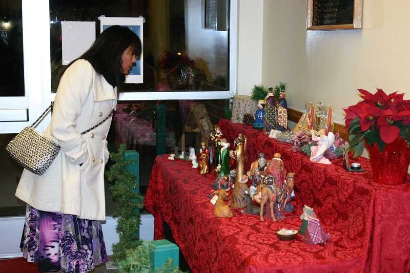 by: JASON CHANEY - Hundreds of nativity scenes, small and large, adorned the ninth annual Community Créche Exhibit held on Saturday evening at the local Church of Jesus Christ of Latter-day Saints.