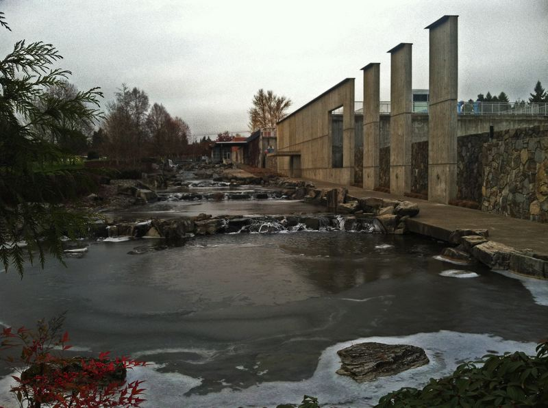 by: SPOKESMAN PHOTO: JOSH KULLA - The city of Wilsonville's Willamette River Water Treatment Plant.