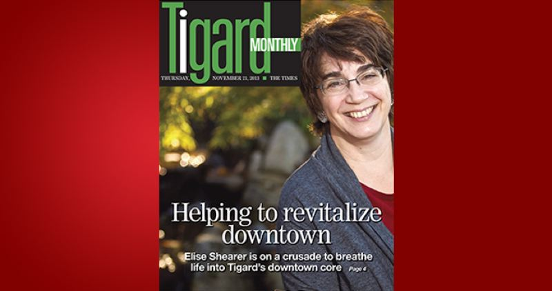 (Image is Clickable Link) by: PAMPLIN MEDIA GROUP - Tigard Monthly - November Issue