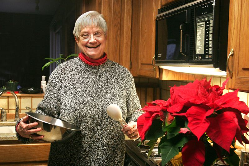 by: OUTLOOK PHOTO: JIM CLARK - Judy Bond, a Gresham resident and longtime volunteer at Legacy Mount Hood Medical Center, has entered The Outlook contest annually the past five years.