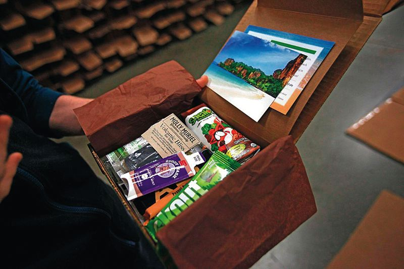 by: PAMPLIN MEDIA GROUP: JONATHAN HOUSE - Its not so hard to find green-oriented gifts. Portlands Conscious Box sends out boxes filled with sustainably-oriented products to several thousand customers each month.
