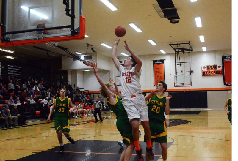 by: TIMES PHOTO: MATT SINGLEDECKER - Beaverton senior guard Ty Peacock had 13 points against Cleveland during the Beavers loss on Tuesday.