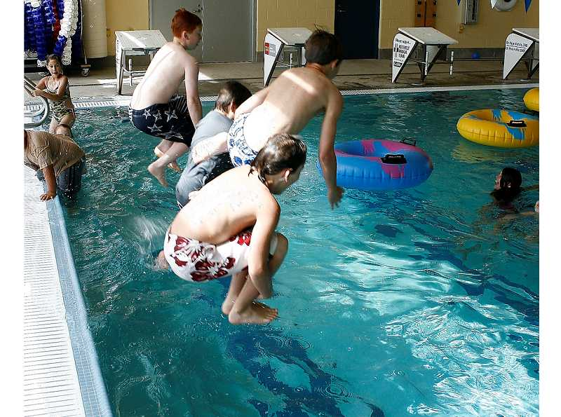 by: CITY OF MOLALLA - The city has cut the Aquatic Center's hours so that the pool is closed between 9 a.m. and 5 p.m. weekdays