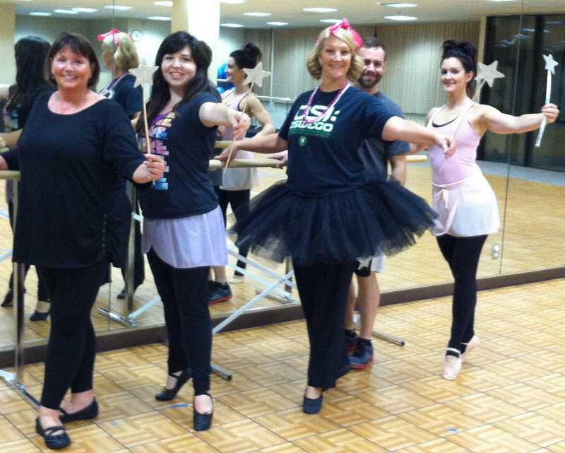 by: SUBMITTED PHOTO - Lake Oswego Parks and Rec is now offering adult ballet classes.