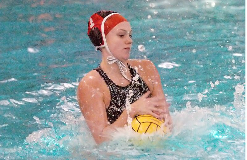 by: DAN BROOD - TOP PLAYER -- Tualatin High School senior goalie Kate McDonnell was named the Pacific Conference girls water polo Most Valuable Player.