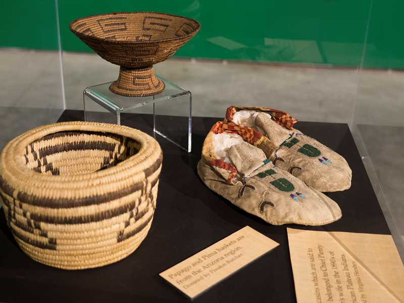 by: COURTESY PHOTO - The Kalapuya People exhibit at the Washington County Museum will feature baskets and clothing worn by the Native Americans of this region.