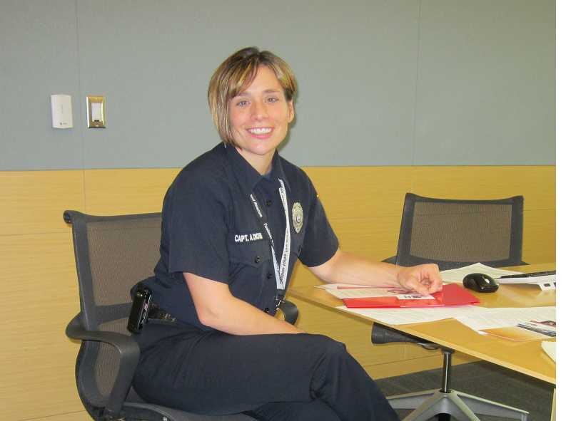 by: BARBARA SHERMAN - Amber Cross is a deputy fire marshal with Tualatin Valley Fire & Rescue who works with families and children who have misused fire, and there are many programs available to help kids get back on the right track.