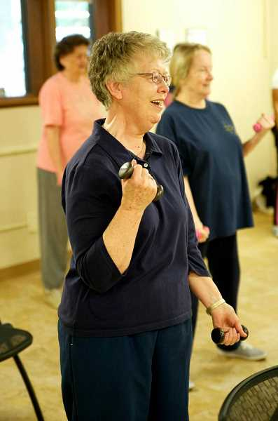 by: SUBMITTED - Exercise and fitness classes are offered throughout the week at the Lake Oswego Adult Community Center. Call for details.
