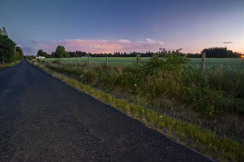 by: FILE PHOTO - The school district hopes to build a middle school and a primary school on this property outside Wilsonville on Advance Road.