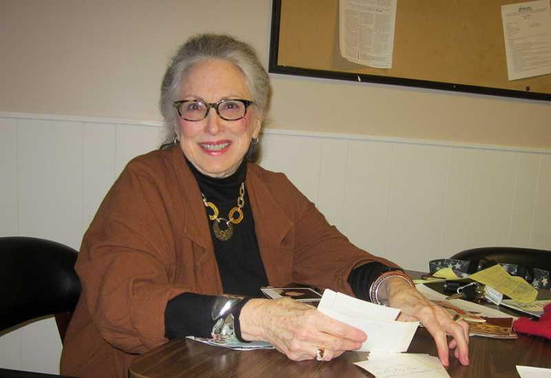 by: BARBARA SHERMAN - 50TH ANNIVERSARY TRIGGERS MEMORIES - Phyllis Peters has lived an extraordinary life and had many brushes with the famous and infamous.