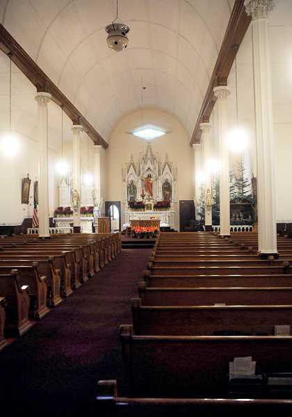 by: SETH GORDON - Hallowed history -- St. Paul Catholic Church will celebrate the 175th anniversary of the first Mass in Oregon -- performed in the church Jan. 6 1839 -- with a concelebrated Mass with archbishop Alexander Sample at 11 a.m. on Sunday.