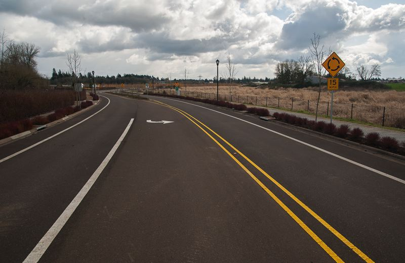 by: SPOKESMAN PHOTO: JOSH KULLA - The Boeckman Bridge finally re-opened to vehicle traffic in November after two years of problems involving the bridge settling into soft soil.