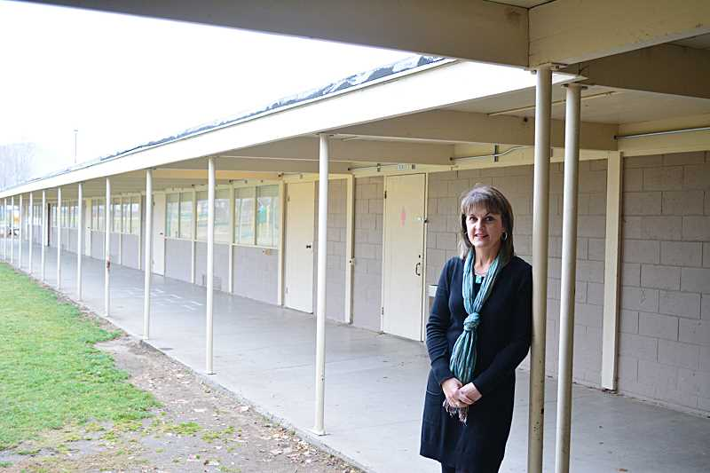 by: PHOTO BY CINDY DIX - Culver School District Superintendent Stefanie Garber will meet with the Culver School Board Jan. 13, to discuss options for proceeding with plans to renovate schools. The district passed an $8.8 million school bond levy in November.
