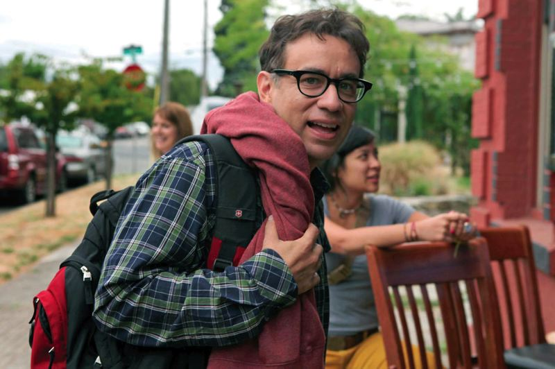 by: TRIBUNE FILE PHOTO: JAIME VALDEZ - Could it be Mayor Fred Armisen? Life might imitate art in 2014, according to predictions.