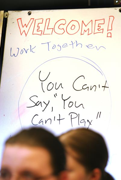 by: OUTLOOK PHOTO: JIM CLARK - When taking part in the Rockwood Library Camp, all attendees abided by the philosophy, 'You can't say you can't play.'