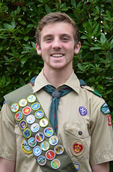 by: SUBMITTED PHOTO - Brooks Fabian Thomas Yeager, an Eagle Scout, plans to study engineering in college.