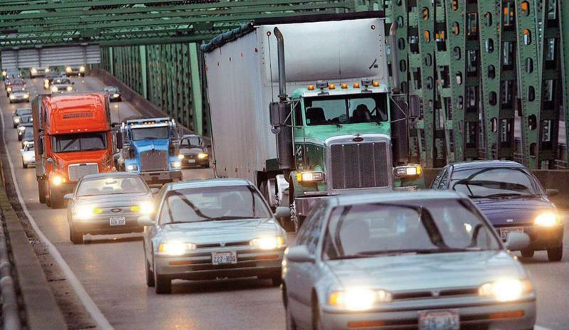 by: TRIBUNE FILE PHOTO - Reducing congestion on the I-5 bridge is one goal of the Columbia River Crossing project.