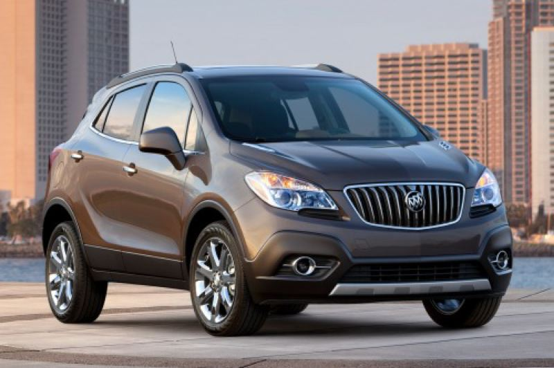 Photo Credit: GENERAL MOTORS CORPORATION - The 2014 Buick Encore is a surprisingly complete package.
