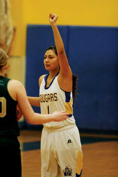 by: PHIL HAWKINS - Freshman guard Andrea Villegas led the Lady Cats with a game-high 13 points, helping to lead Gervais to a 35-15 road victory over the Horizon Christian Hawks on Friday.