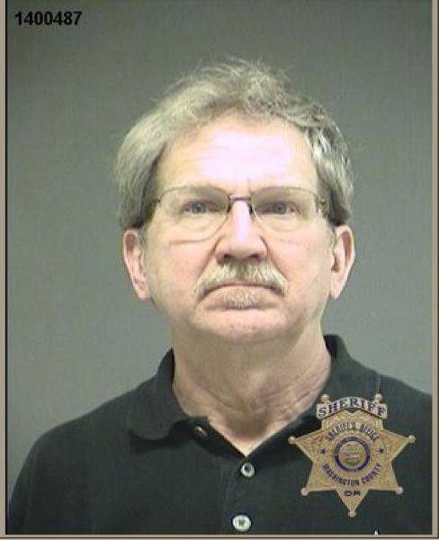 by: WASHINGTON COUNTY SHERIFF'S OFFICE - Ray Patrick Jones, 59, was arrested on Thursday, Jan. 9, after his car struck a pedestrian in a crosswalk on Southwest Barnes Road.