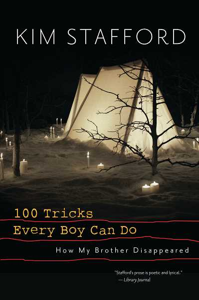Kim Stafford is a finalist in the creative nonfiction genre for his book 100 Tricks Every Boy Can Do.