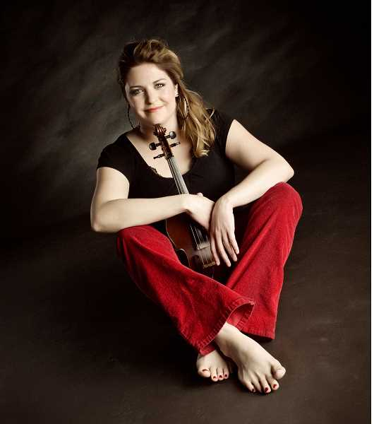by: SUBMITTED PHOTO - Cape Breton fiddler, composer and step dancer Andrea Beaton will present a concert Jan. 25 at Tualatins Winona Grange.