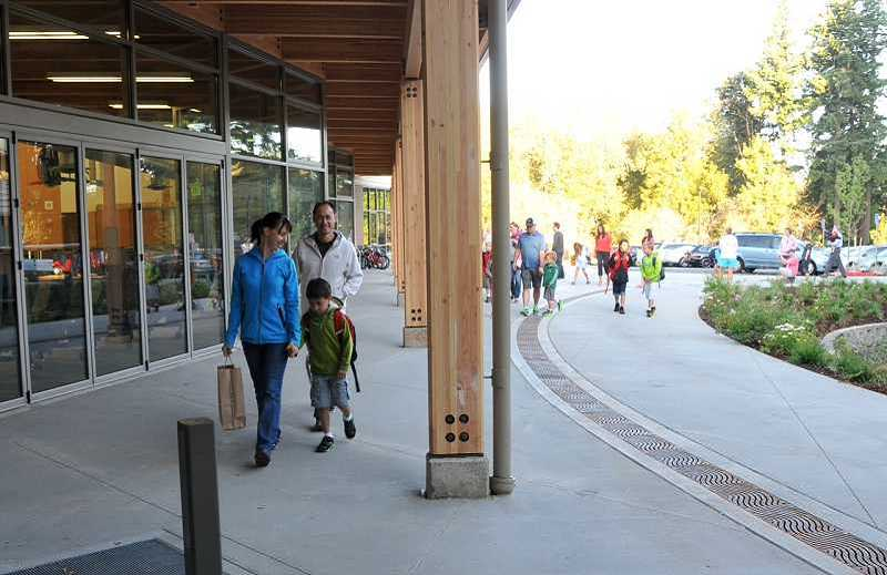 by: TIDINGS FILE PHOTO - West Linn's Trillium Creek Primary School was constructed with funds included in the school districts 2008 bond.