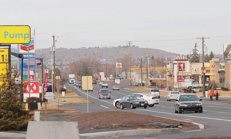 by: HOLLY M. GILL - Sidewalks will soon be installed on both sides of U.S. Highway 97, on the south end of Madras, as part of a $1.4 million grant-funded project. Beginning this month, Knife River Corp. will start the project to increase pedestrian safety from Fairgrounds Road to L Street.